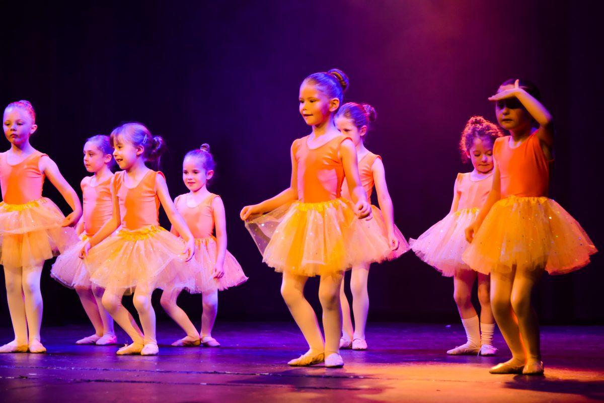 Ballet on stage at the Hazlitt Theatre Maidstone