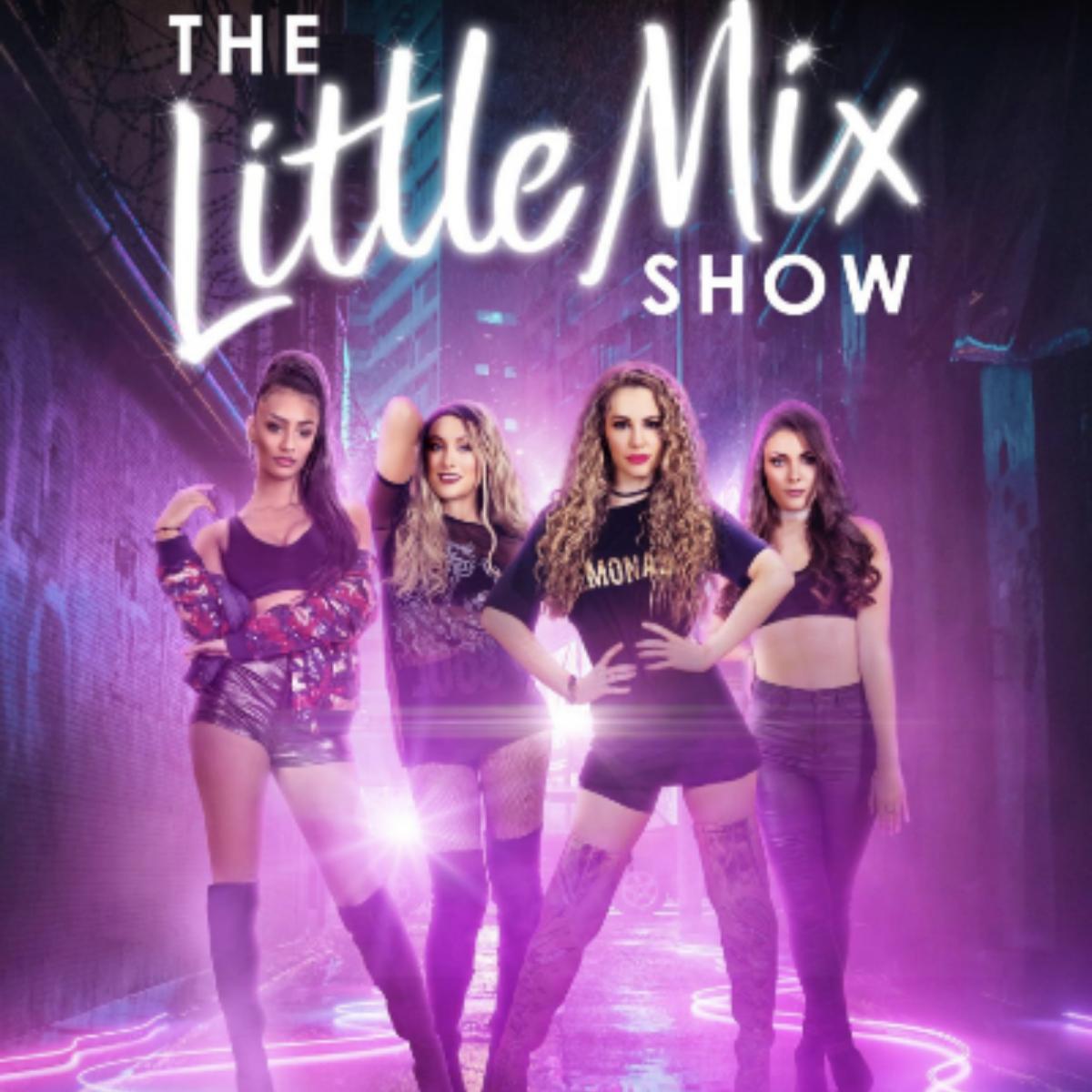 Jazmin in Little Mix Show